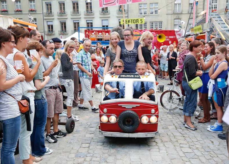 Buskers Bern/Bern (CH) Foto: Philipp Zinniker