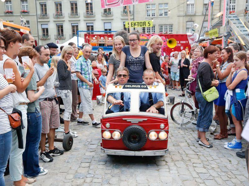 Buskers Bern/Bern (CH). Foto:Philipp Zinniker