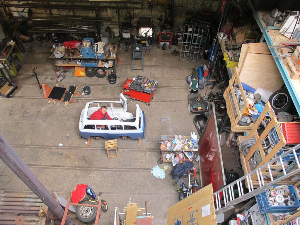 Atelier Het Domijn, Weesp. Bouw Suzy