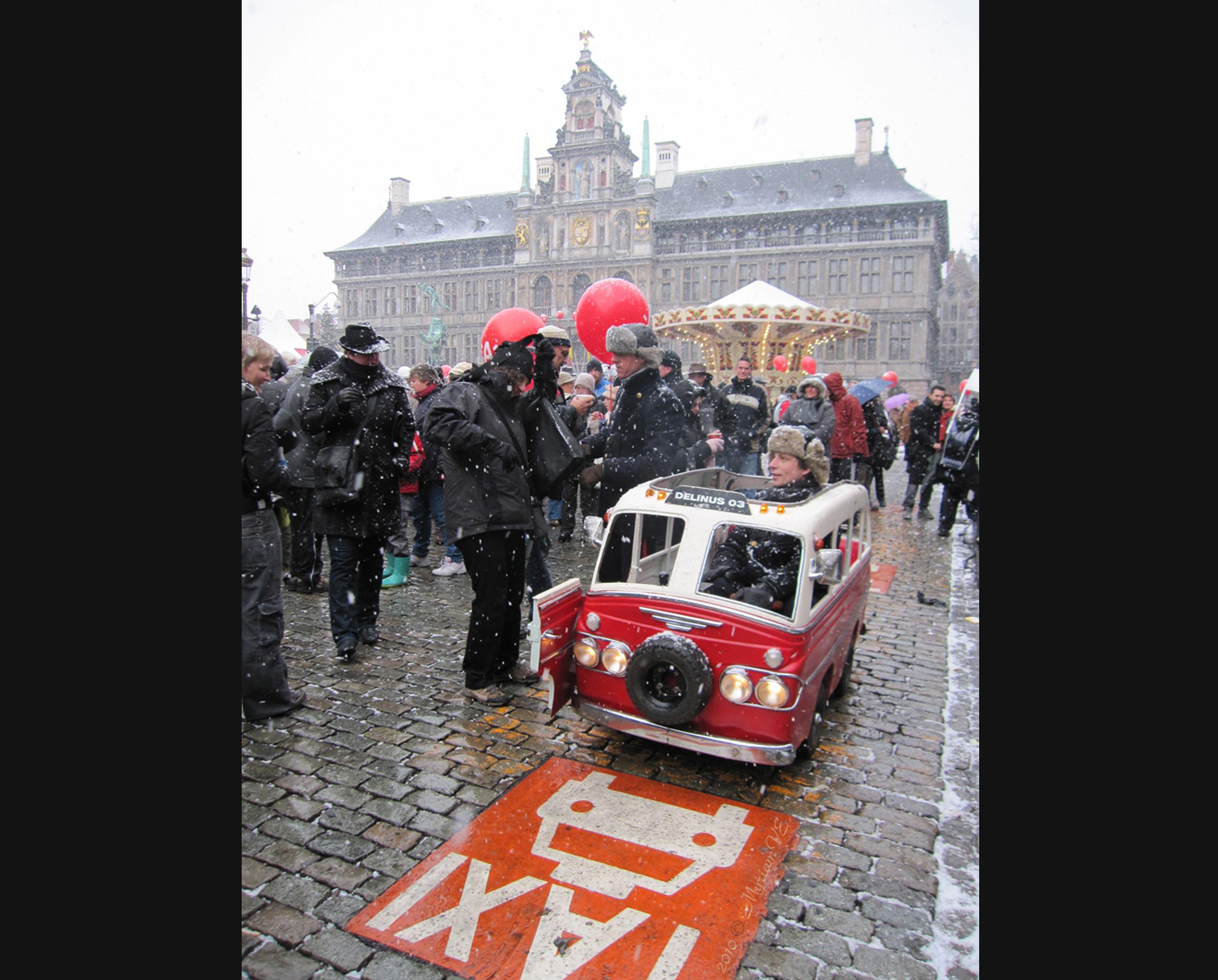 Delinus-03, Nieuwjaarsdrink/ Antwerpen